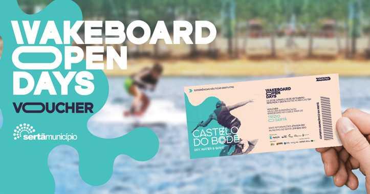 Sertã: Município disponibiliza vouchers de Wakeboard