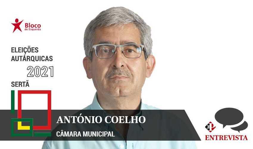 Autárquicas 2021: António Coelho é o candidato do BE à Câmara Municipal da Sertã