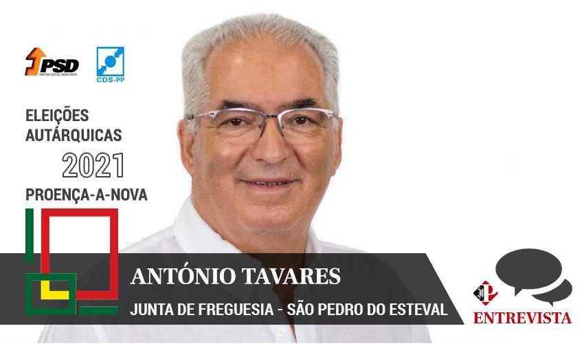 """Autárquicas 2021: António Tavares quer """"orientar e organizar problemas da freguesia"""""""