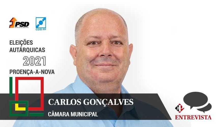 """Autárquicas 2021: Carlos Gonçalves quer """"estratégia de desenvolvimento"""""""