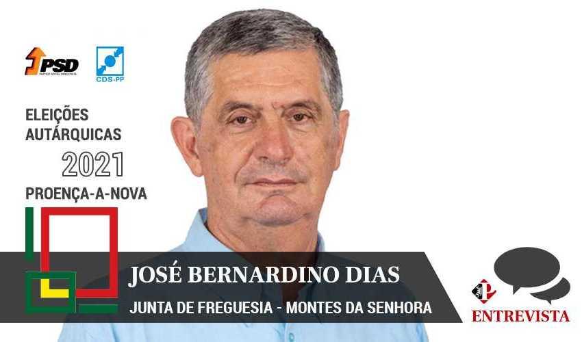 """Autárquicas 2021: José Bernardino Dias quer """"continuar trabalho executado"""""""