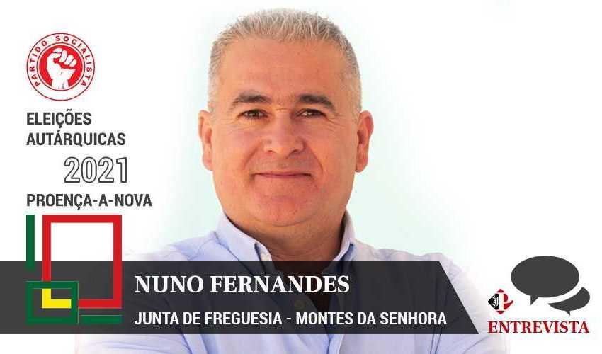 """Autárquicas 2021: Nuno Fernandes quer """"mudar para crescer"""""""