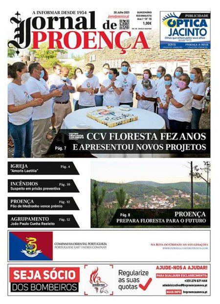 Capa Nº18 - Jornal de Proença