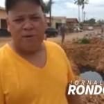 Morador denuncia buraco deixado pela prefeitura no Bairro Cohab na Capital