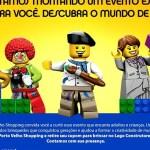 Porto Velho Shopping traz pela primeira vez em RO o evento LEGO®