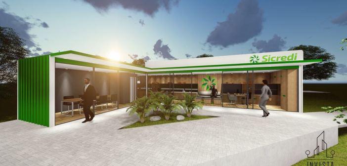 Cafeara ganha agência modelo do Sicred União; Inauguração é na segunda