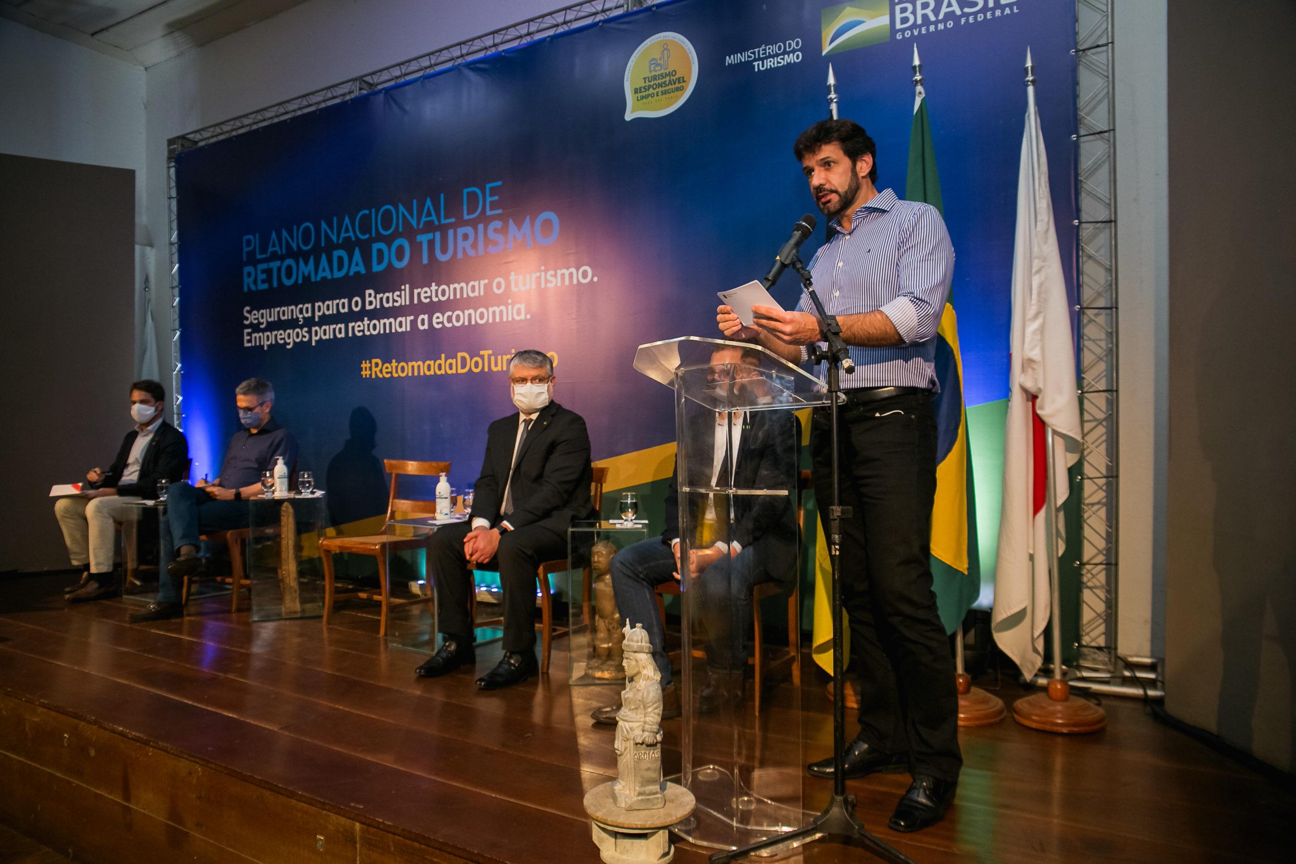 Em Ouro Preto-MG, ministério apresenta Plano Nacional de Retomada do Turismo  - Jornal Voz Ativa