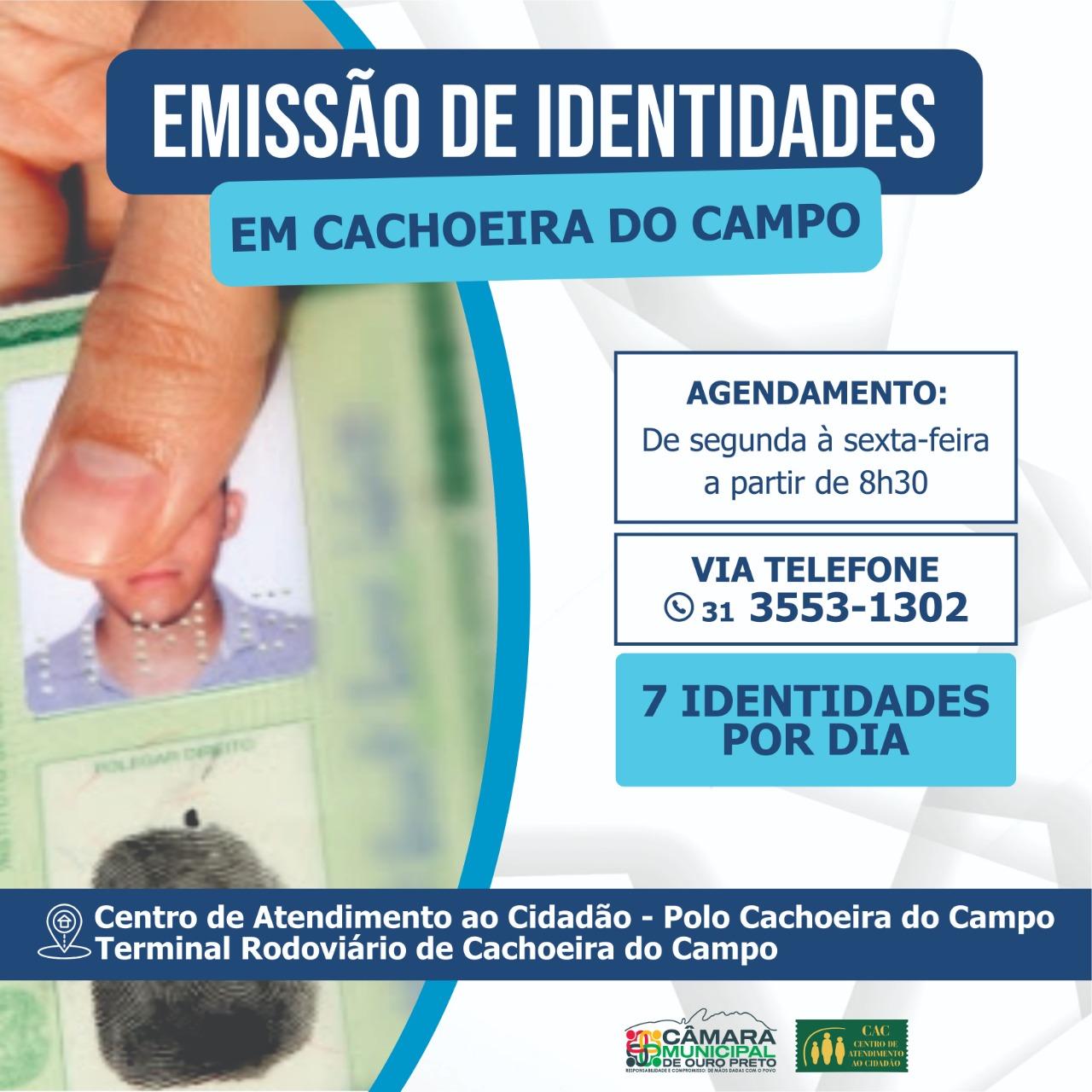 CAC em Cachoeira do Campo