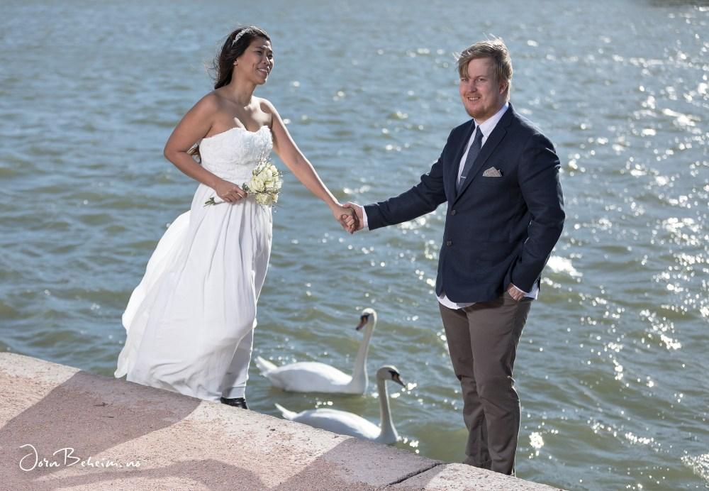 Bryllupsfotograf Drammen