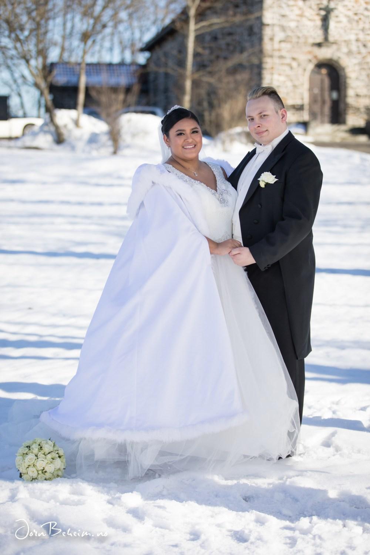 Bryllupsfotografering Lillestrøm
