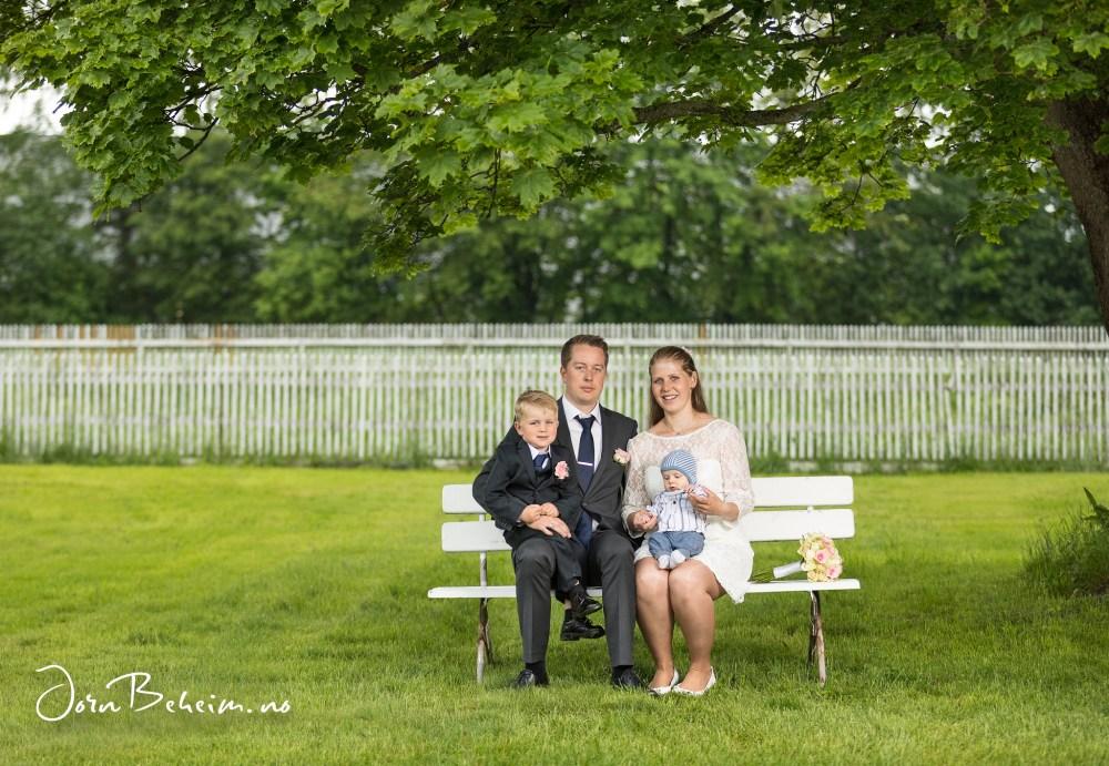 Bryllupsfotografering Lier