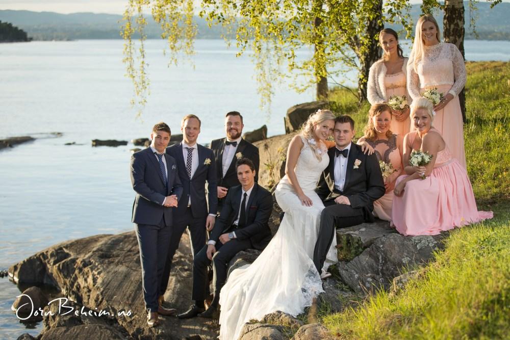 Bryllupsfotografering Nesodden