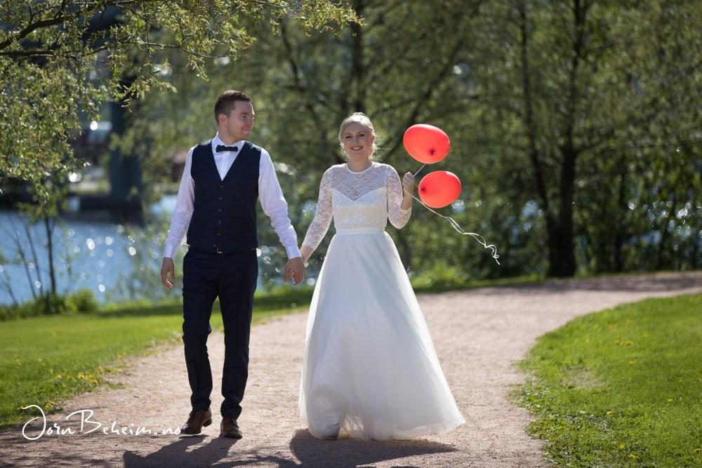 Bryllupsfotografering i Drammen