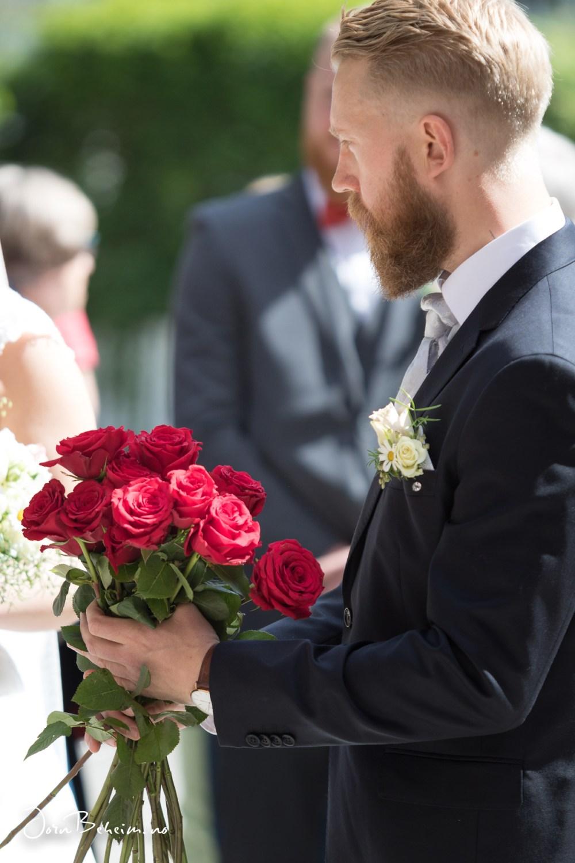 Bryllupsfotografering Sandefjord