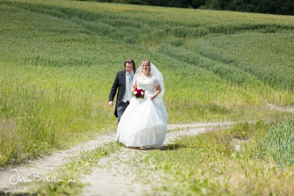 Bryllupsfotografering Røyken