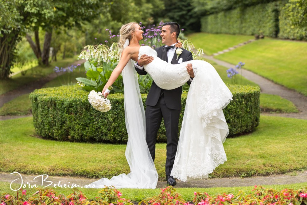 Bryllupsfotograf Gulskogen Gård