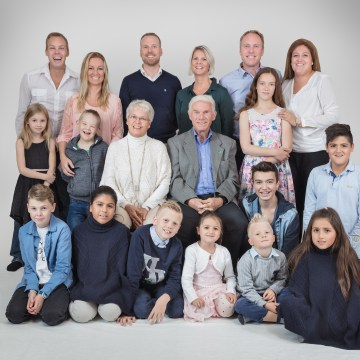 Fotografering familie