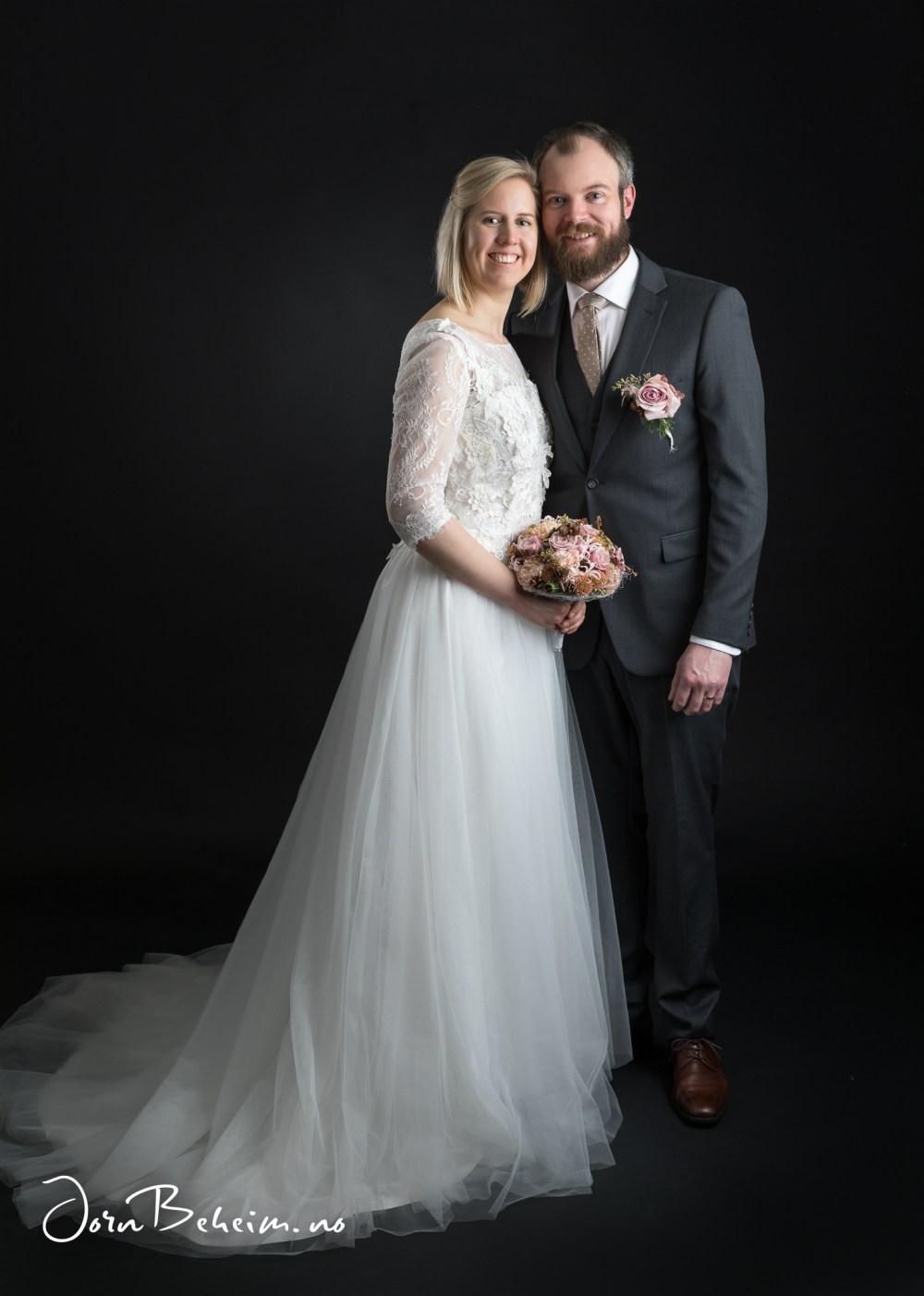 Bryllupsbilder i studio
