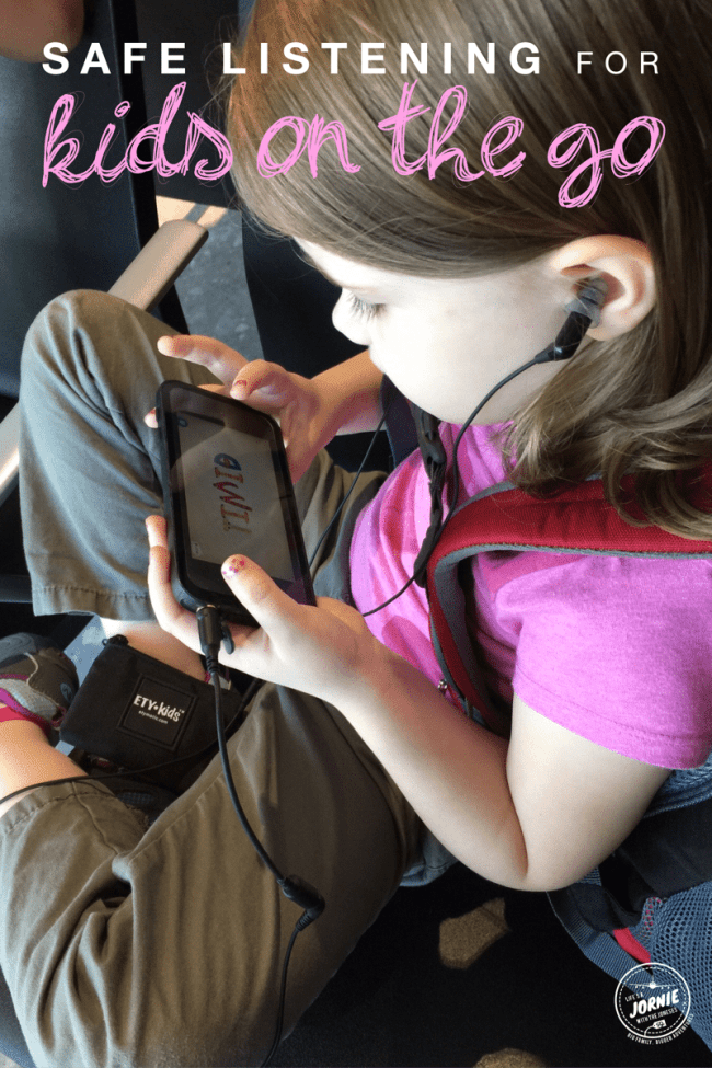 Safe listening for kids on the go