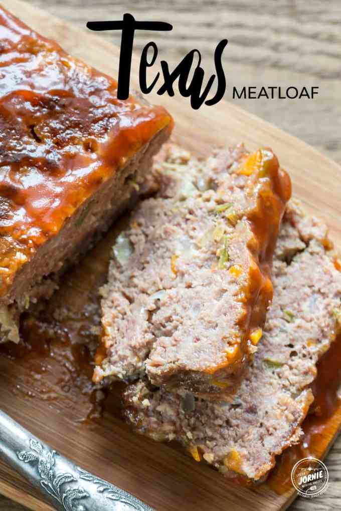 Have-it-your-way Texas Meatloaf