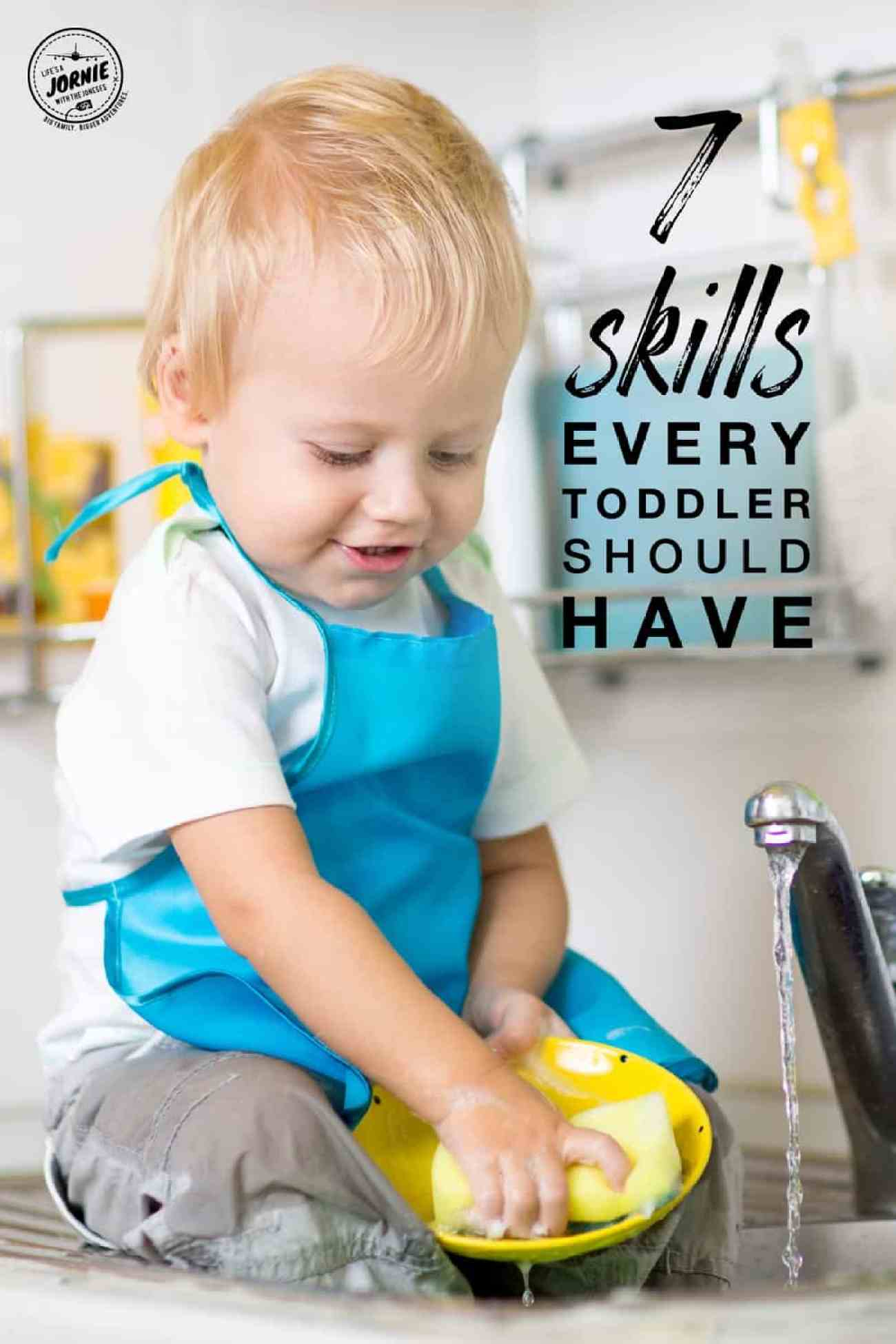 Saving these! Great skills every toddler should learn.