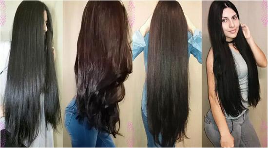 ماسك الزيوت لتكثيف وتطويل الشعر