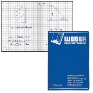 Werbeartikel Notizbücher Handwerk