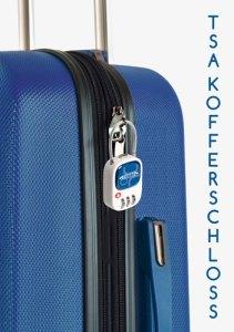 Werbeartikel TSA-Kofferschloss