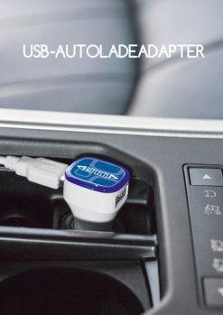 Werbeartikel USB-Autoladeadapter