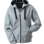 Hooded Lady grau / navy