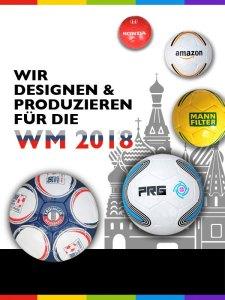 Werbeartikel Werbeball Fussball-WM