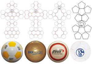 Mini-Fußbälle aus Synthetikledermaterial (Promotion-Minifußball)