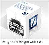 Haptische Werbehilfe Faltwerk Magic Cube 8