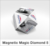 Haptische Werbehilfe Faltwerk Magic Diamond 5