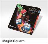 Haptische Werbehilfe Faltwerk Magic Square