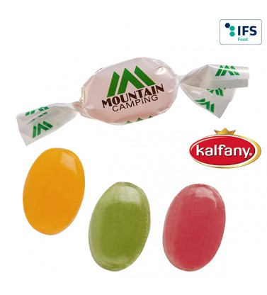 Werbeartikel Bonbons im Werbewickel