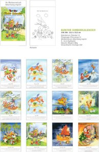 JoSa Werbeartikel Kinder Kalender