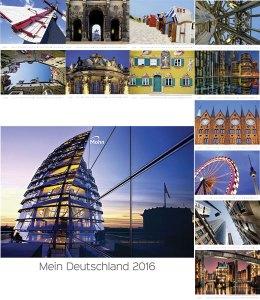 Werbeartikel Bildwandkalender Mein Deutschland