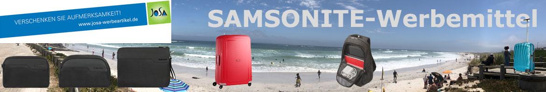 Samsonite-Werbemittel