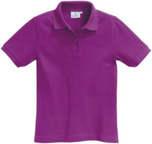 Poloshirt in violet