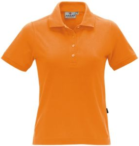Poloshirt bedrucken orange