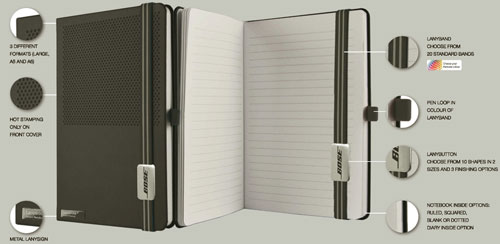 Lanybook Promotion Notebook