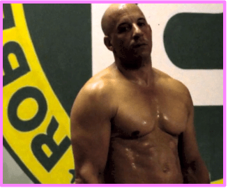 Vin Diesel Flaunts Ripped Shirtless Body for Combat ...