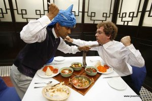 Josambro in HK: Luncheons with Nury Vittachi were fraught with peril