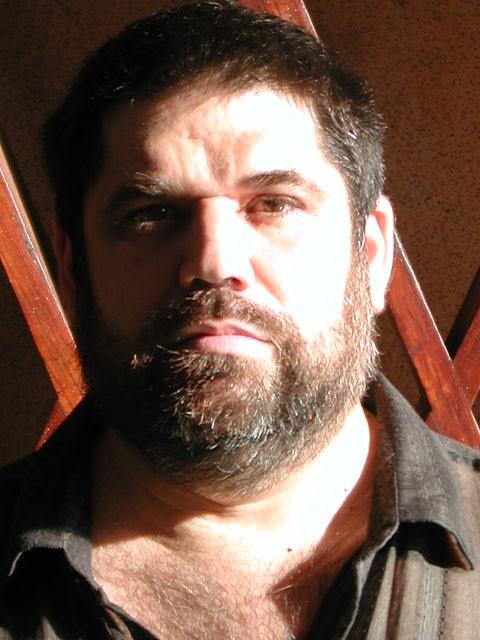 Jose Antonio Gutierrez en la Galeria de Arte Nacional de Venezuela, 2004