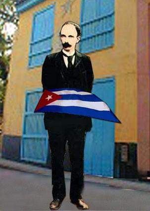 EL ABANDERADO MARTI, por Chiquita Cubana.