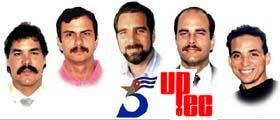 Los 5 presos que permanecen en los Estados Unidos...