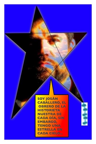 La Estrella Papalote de Josán Caballero, en el cielo azul de su ideal...