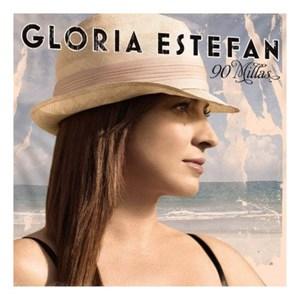 Portada disco 90 Millas, de Gloria Estefan.