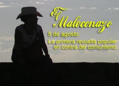 Cuánto necesitamos un nuevo MALECONAZO para siempre, cartel de Chiquita Mala.